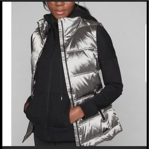 Athleta Responsible Fashion Trends Down Arch Vest